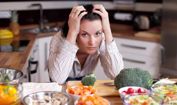 Депрессия при диете
