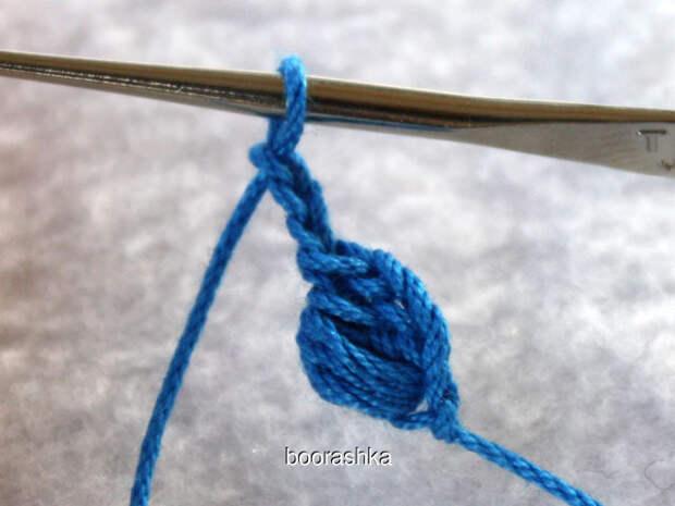 Объёмный шнур крючком (Diy)