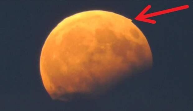 На Луне во время затмения нашли пирамиды