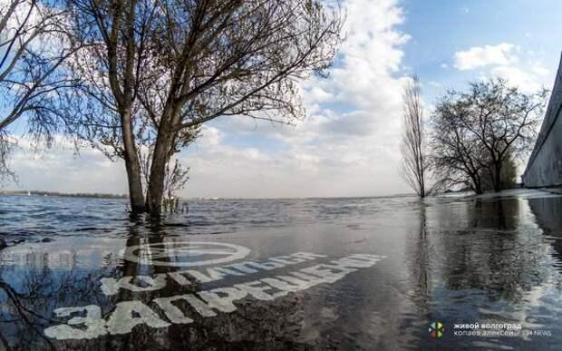 На Волжской ГЭС снизили объём сброса воды