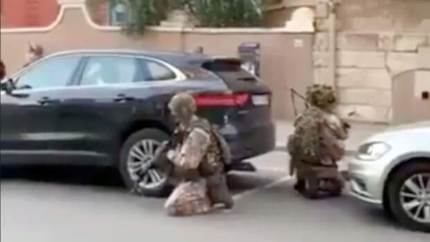 Латвийские военнослужащие напугали жителей Риги стрельбой на городских улицах