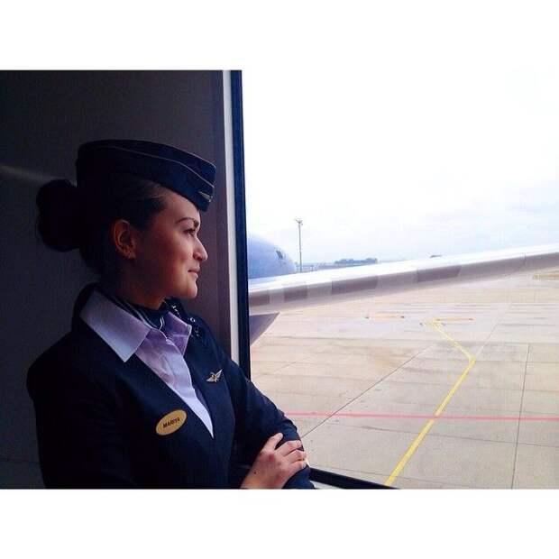 Будни стюардесс. Точнее - бортпроводников российских авиакомпаний.