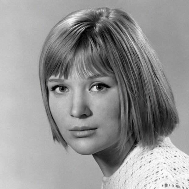 Актриса Галина Польских в 1960-е.