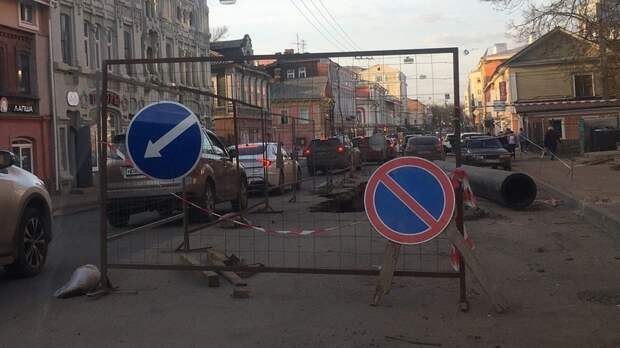 Перекопают все: еще одну улицу вНижнем Новгороде закроют из-за ремонта