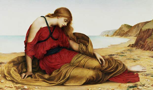Одна из самых популярных работ — «Ариадна на Наксосе» (1877г.)