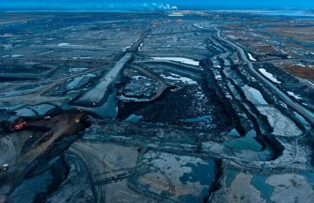 Альберта нефть пески Канада