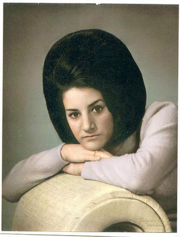 Адовы причесоны 60-х 60-е, fashion, мода, ностальгия, прически