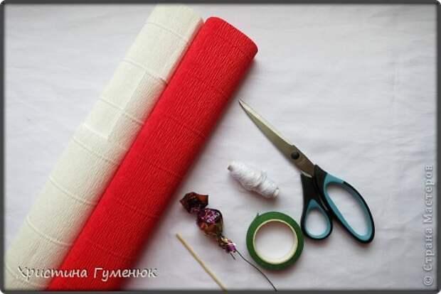 Мастер-класс Свит-дизайн Бумагопластика Цветы  как я их делаю  Бумага гофрированная фото 2