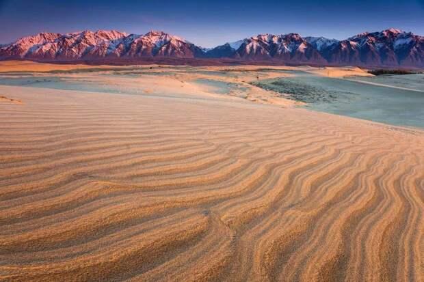 Пустыня в Сибири