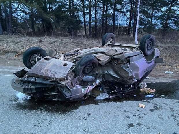 Один человек погиб и трое получили травмы в аварии под Ижевском