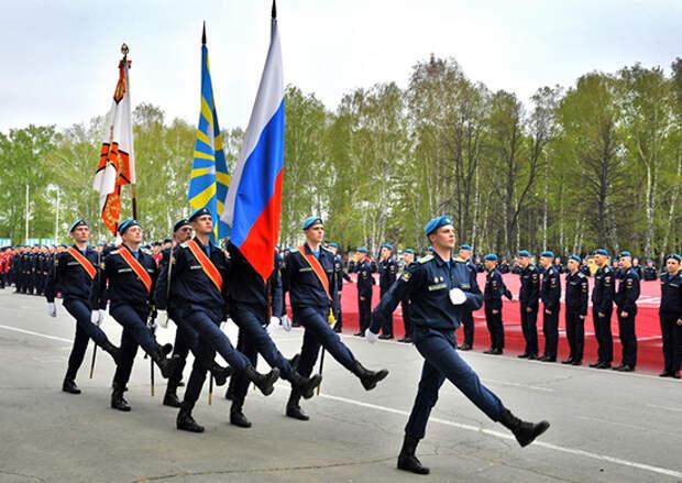 Челябинский филиал Военно-воздушной академии поддержал Всероссийскую акцию «Бессмертный полк»