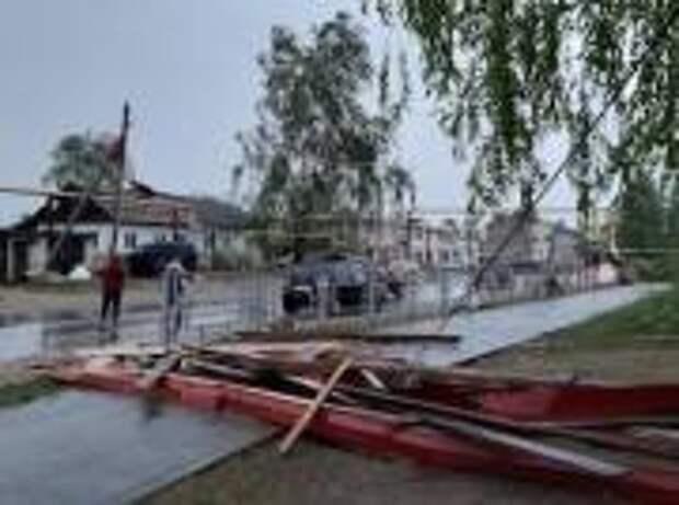 «Россети Центр» и«Россети Центр иПриволжье» ликвидируют последствия урагана врегионах Центрального иПриволжского федеральных округах