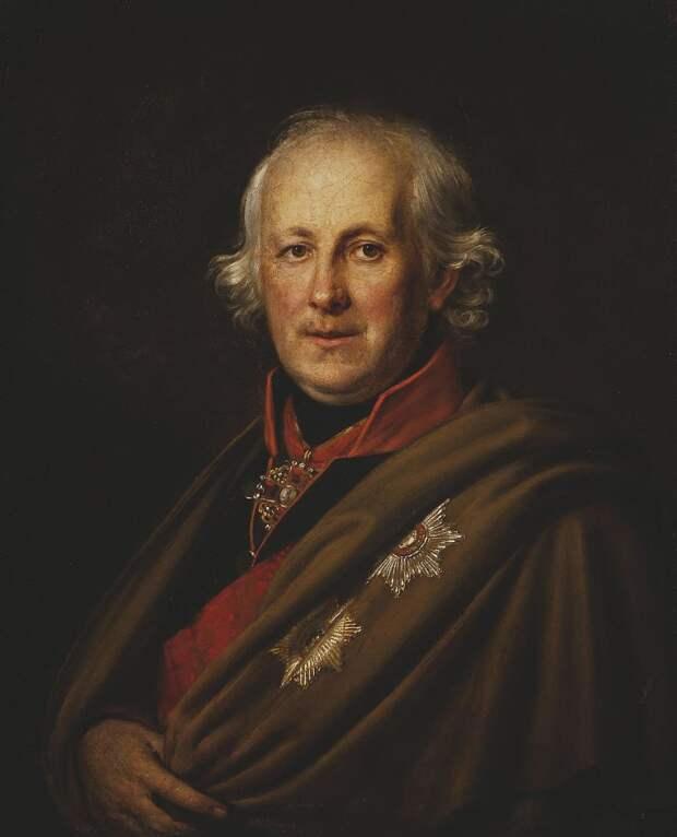 Адмирал Николай Мордвинов. худ. А. Г. Варнек. ок. 1815 г. Источник: WikiCommons
