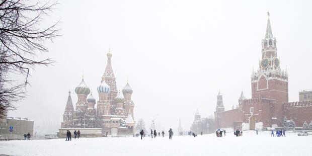 Москву накроет первая метель