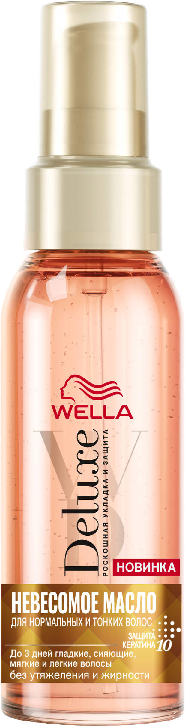 Wella представляет новую коллекцию средств для укладки Wella DELUXE с натуральными маслами
