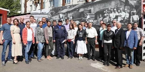 Столичные пожарные и спасатели отмечают годовщину создания Местной противовоздушной обороны