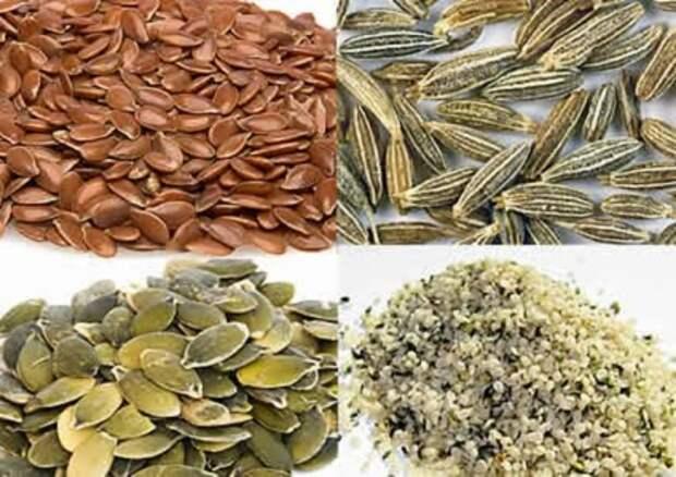 10 самых полезных для человека семян...