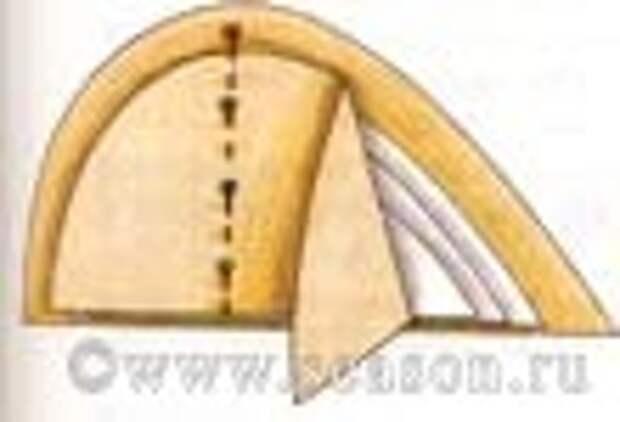прокладка в области груди
