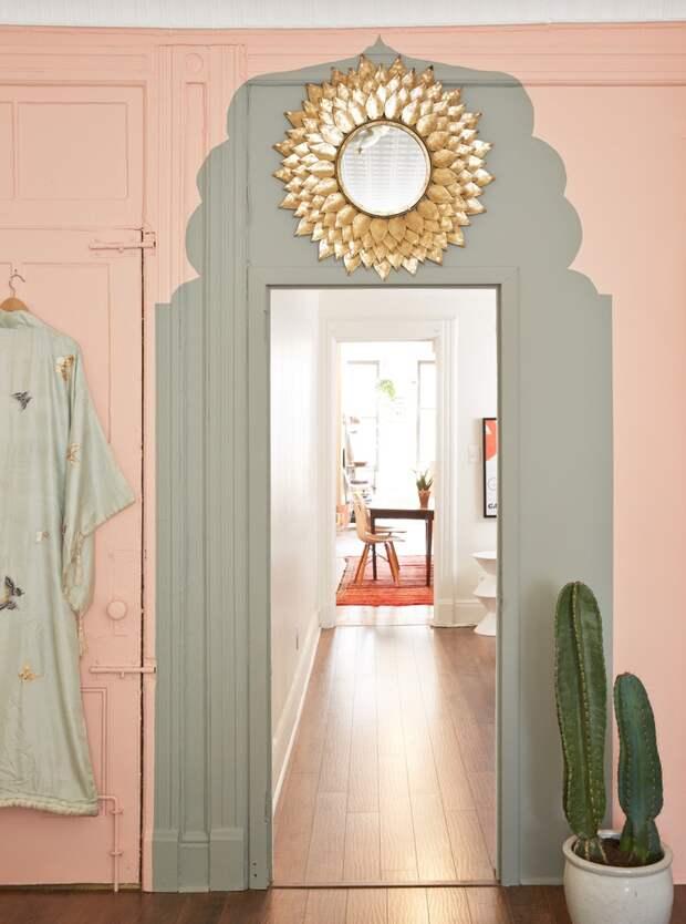 перекраске двери или косяка