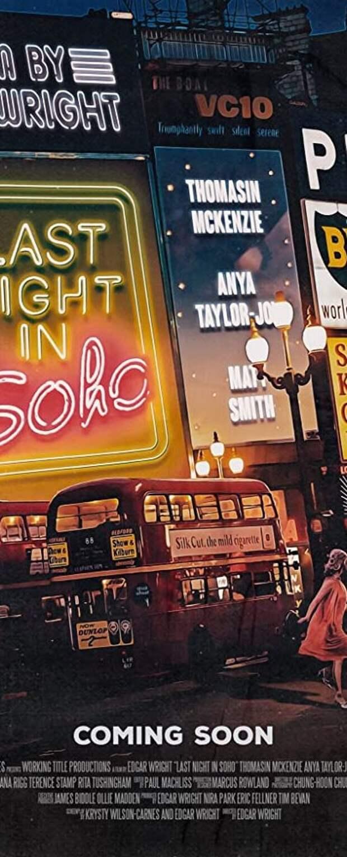 Новый трейлер к фильму «Прошлой ночью в Сохо»