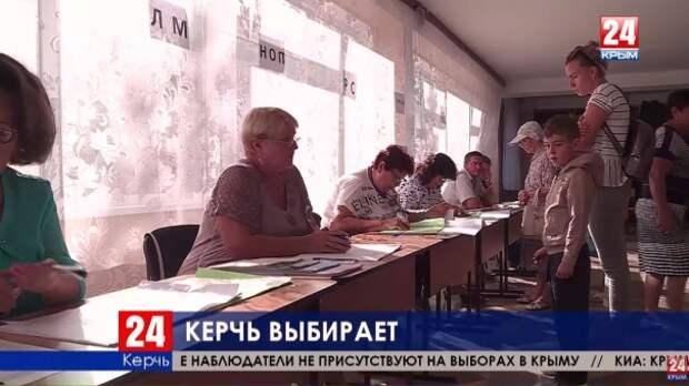 70 избирательных участков открылись в Керчи в Единый день голосования