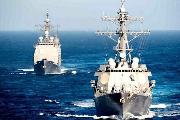 Кто в Чёрном море хозяин? Российские фрегаты сорвали учения НАТО