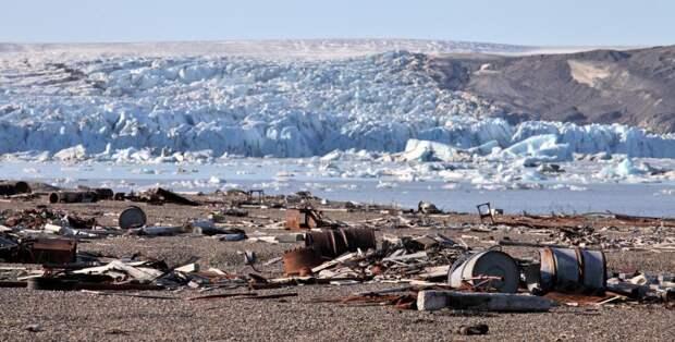 Активисты собрали более 500 тонн металлолома наострове вКарском море: Новости ➕1, 18.05.2021
