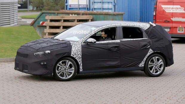 Новый Kia cee'd: в следующем году!