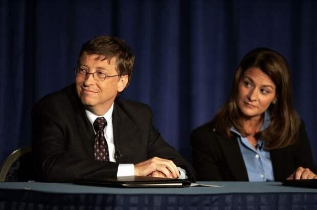 Билл и Мелинда Гейтс. / Фото: www.hlavnespravy.sk