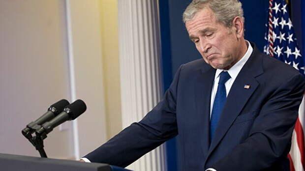 """""""Было не найти"""". Трамп припомнил молчание Буша в истории с импичментом"""
