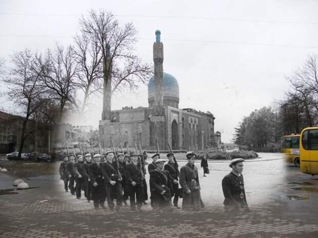 Ленинград 1941-2009 Петроградская сторона. У мечети блокада, ленинград, победа