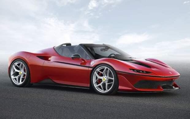 Япония вдохновляет: Ferrari представила юбилейную таргу J50