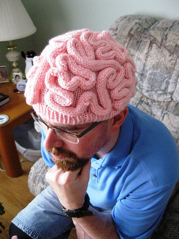 Шпака - мозг вязание, новый год, подарки