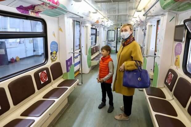 Дети из Строгина будут постигать азы безопасности в вагоне метро