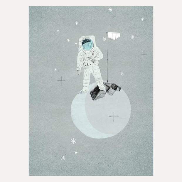 Иллюстрация Марианны Штымы изкниги «Тайная история трусов для почти взрослых»