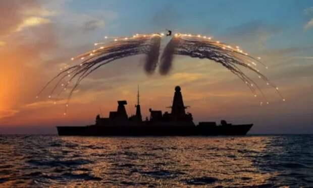 В чьи территориальные воды на самом деле заходил британский эсминец?