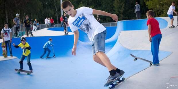 Скейт-парк, площадки для стритбола и Гонки героев появятся в Отрадном