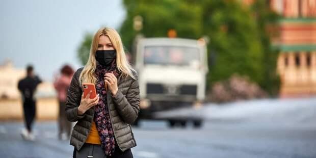 Более 40 нарушителей масочного режима выявили в торговых центрах на северо-западе Москвы 3 июня. Фото: М. Денисов mos.ru