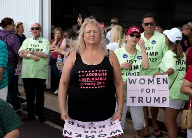 Митинг в поддержку Дональда Трампа