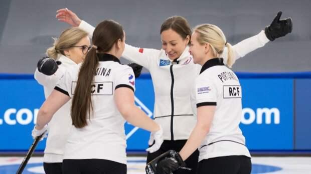 Российские керлингистки сыграют в финале ЧМ против сборной Швейцарии