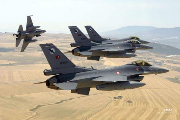 EDAM: истребители ВВС Турции стремительно устаревают