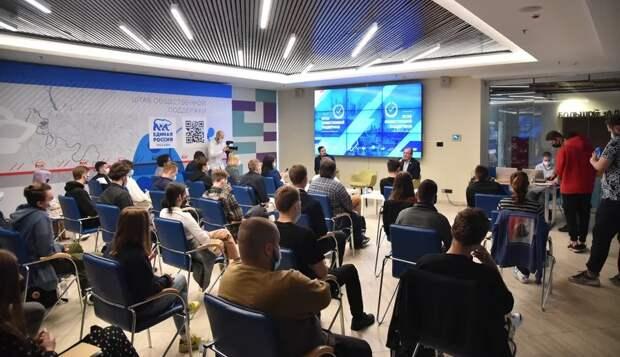 Петр Толстой оценил предложения молодежных организаций Москвы в Народную программу «Единой России»