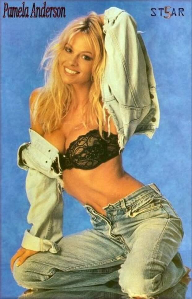 Памела Андерсон в молодости фото