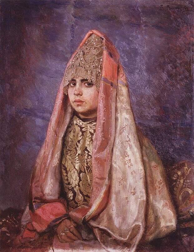 В.М.Васнецов Боярышня