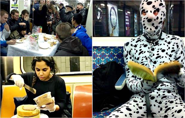 Абсурдные ситуации в метро.