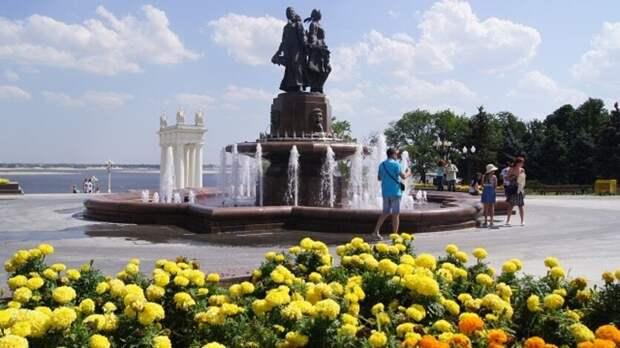 70 тысяч цветов высадят в Волгограде накануне Дня Победы