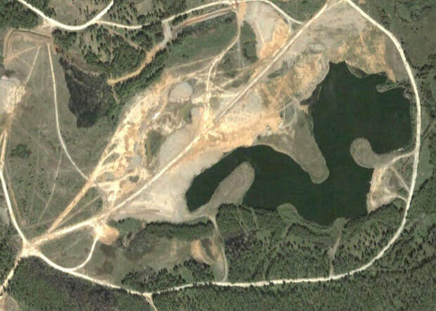 Самое радиактивное озеро в мире...