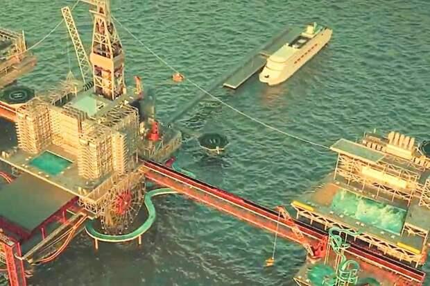 Нанефтяной платформе вСаудовской Аравии появится парк развлечений: Новости ➕1, 18.10.2021