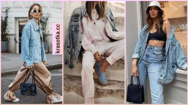13 крутых способов как носить джинсовку весной стильным красоткам