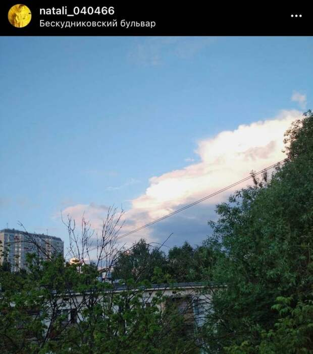 Фото дня: Бескудниковский после дождя